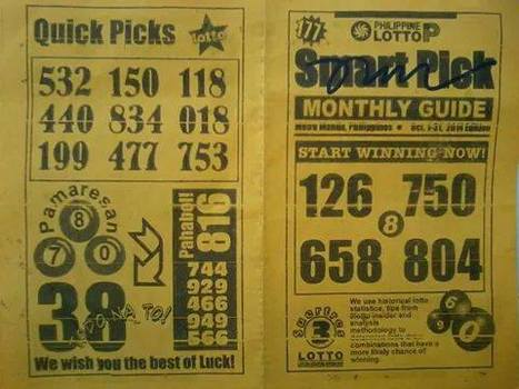 SEP 08, 2015 PCSO LOTTO TIPS PHILIPPINE LOTTO TIPS | Philippine PCSO Results | Philippine PCSO Results | Scoop.it