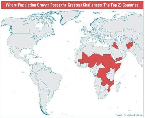 Population Growth Will Exacerbate Problems in Some Developing Countries | 21st Century Homeschooling | Scoop.it