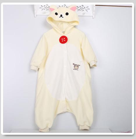 children Rilakkuma kigurumi costume | kids animal onesies | Scoop.it