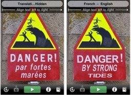 Five augmented reality apps for reporters abroad | IJNet | Augmented Reality in Education and Training | Scoop.it