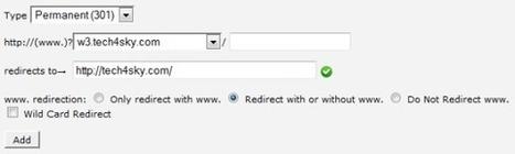 How to Create 301 / 302 Redirect via cPanel | Web Design & Development | SEO, PHP, Wordpress & CMS Tutorials | Scoop.it