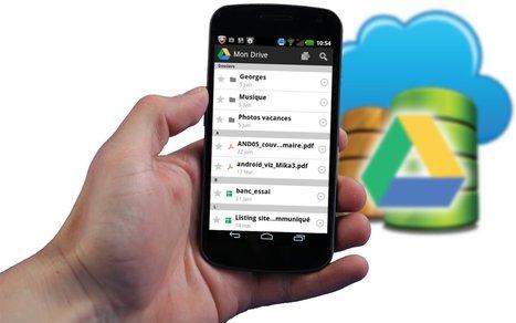 Dossier Google Drive #2 : Récupérez vos fichiers sur Android   Time to Learn   Scoop.it