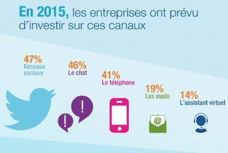 En 2015, la moitié des entreprises vont investir sur les #réseauxsociaux ! #TPE #PME | Initia3 - Conseils numériques TPE - PME | Scoop.it