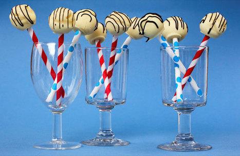Recipe: White chocolate mint lollipops - The Dominion Post | funnysplash!! | Scoop.it