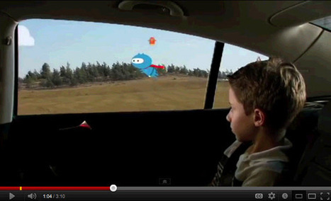 How to keep the kids amused | The Urbanist | Augmented Reality - Urbanism | Scoop.it