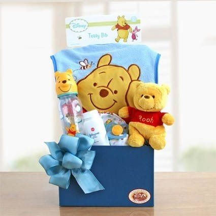 Gift Basket Delivery for New Baby Birthday | Birthday Gift Ideas | Scoop.it