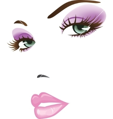 Beautiful face vector 299622 by ColorValley   Royalty Free Vector Graphics & Clipart   VectorStock®.com   beauty   Scoop.it
