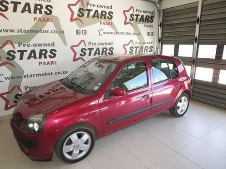 2002 Renault Clio 1.6 16V Privilege 5 Dr - PRE-OWNED STARS PAARL | Paarl | Gumtree South Africa | 112630875 | Autos of Dallas | Scoop.it