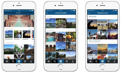 Instagram Gets Newsy With Trends And Place Search For Exploring Anything, Anywhere | PR and Social Media Best Practices | Scoop.it