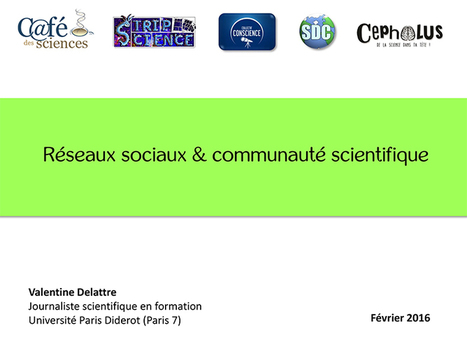 [Présentation] Twitter et la communauté | Culture scientifique et technique | Scoop.it