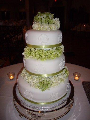 summer white spring round green multi shape   CLASSIC MULTISHAPE WEDDING CAKES   Scoop.it