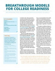 Breakthrough Models for College Readiness: An Introduction to Next Generation Blended Schools | EDUCAUSE.edu | Mary's Online & Blended Learning Resources | Scoop.it