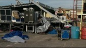 Storms blamed for Cleveland Co. stage collapse   Troy West's Radio Show Prep   Scoop.it