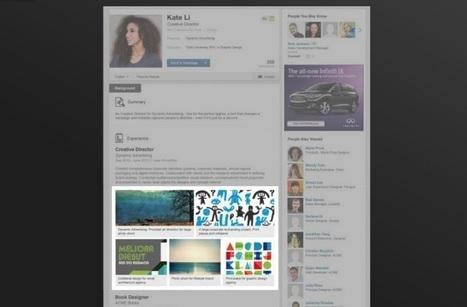 LinkedIn te permite crear un portafolio profesional   LinkedIn   Scoop.it