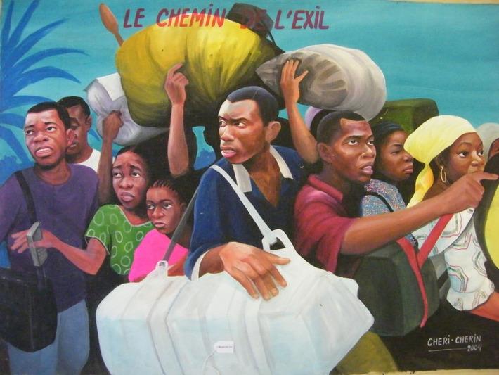 La peinture populaire de la RDC présentée à Bruxelles | Art Contemporain Africain | Kiosque du monde : Afrique | Scoop.it