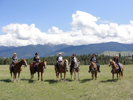 Dude Ranch Blog - Dude Ranch Vacations Are Trending for Multi-Generational Families - Equitrekking | Dude Ranch Vacations | Scoop.it