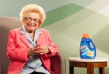 With Dr. Ruth, Clorox Goes From Whiter Whites to Fifty Shades of Grey | Psychology of Media & Emerging Technologies | Scoop.it