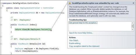 BlueLemonCode.Com | Cool new database migration feature of EF 4.3 | AspNet MVC | Scoop.it
