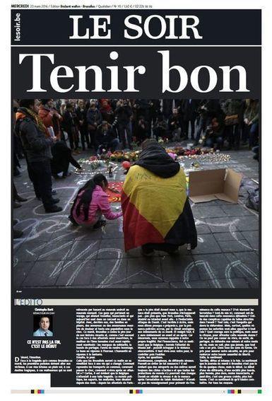En images : les «unes» des journaux français et étrangers après les attentats de Bruxelles | FLE et nouvelles technologies | Scoop.it