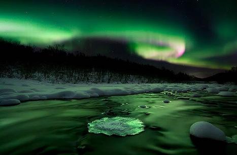 Au bout de la route: Vidéos : Les plus belles aurores boréales de ces derniers jours | Merveilles - Marvels | Scoop.it