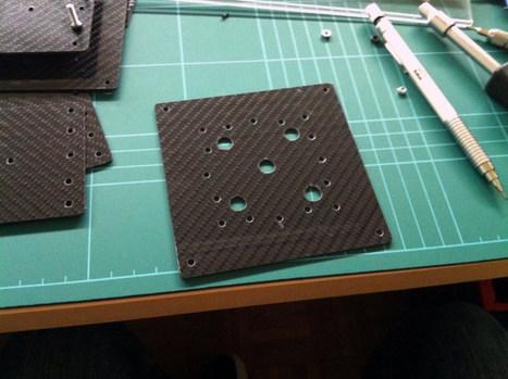 ArduCopter Quad Carbon Frame DIY Build - DIY Drones | Electrónica y Arduino | Scoop.it