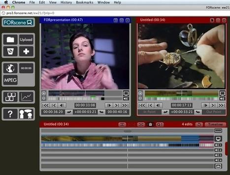 FORscene : world's largest Cloud video post-production platform | SM | Scoop.it