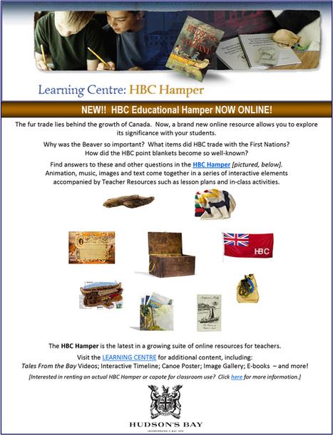 HBC Learning Centre: Hamper | HCS Learning Commons Newsletter | Scoop.it