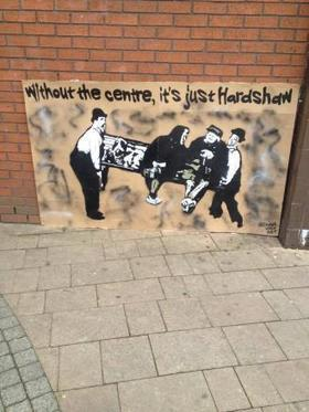 Artwork outside Hardshaw Centre causes storm | Welfare, Disability, Politics and People's Right's | Scoop.it