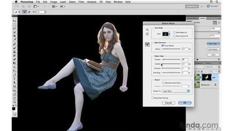 Project 1: Removing a model from a background in Photoshop from the Course Photoshop CS5: Creative Compositing | xposing world of Photography & Design | Scoop.it