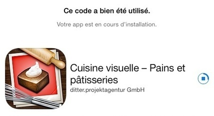 Apple offre « Cuisine visuelle – Pains et pâtisseries » via son ... | nutri_france | Scoop.it