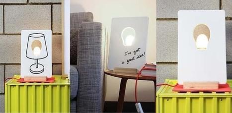 La lámpara de las mil caras.   Mil ideas de Decoración   Accesorios decoración   Scoop.it