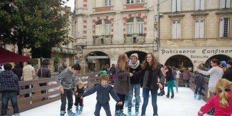 Tous sur la glace ! | Coeur de Bastide de Ste Foy la Grande | Scoop.it