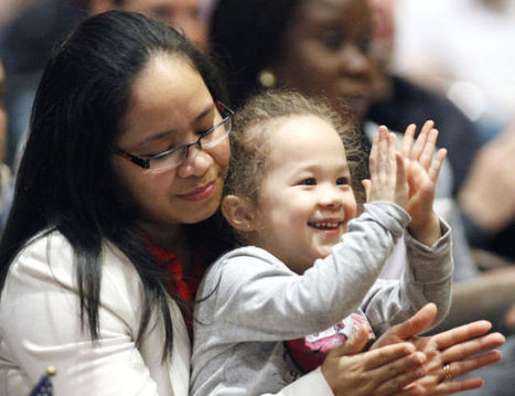 Almost 100 people become U.S. citizens   Government & Law - Evan Richardson   Scoop.it