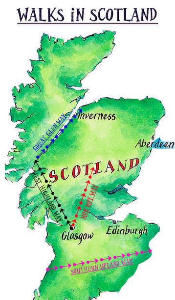 Long Distance Walks in Scotland-Walking in the Highlands | Walks in Scotland | Scoop.it