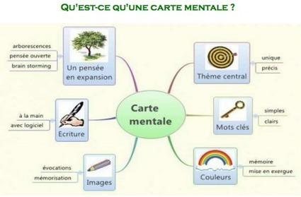 Carte mentale ou organigramme : apprendre autrement. | Cartes mentales | Scoop.it