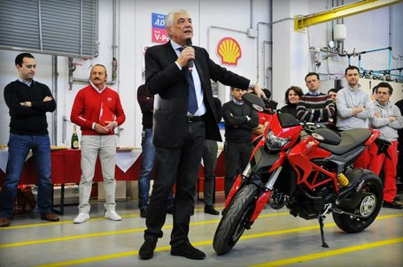 First Hypermotard Leaves Ducati Production Line | Desmopro News | Scoop.it