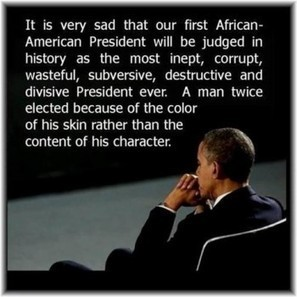 Our First African American President | FrontPage Magazine | AP Government & Politics | Scoop.it
