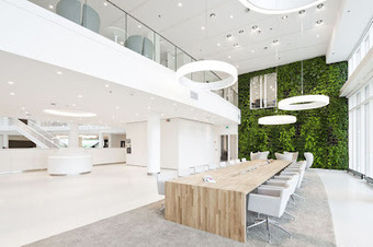 sustainable office rotterdam vegetal green wall | Vertical Farm - Food Factory | Scoop.it