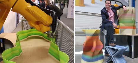 Dutch Engineer Jasper Menger Presents Incredible Robotic Arm 3D Printer With 26 Foot Reach | Architecture, design & algorithms | Scoop.it