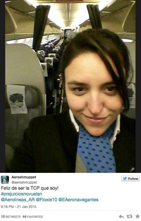 Una aerolínea responde de la mejor manera a un pasajero que se queja de que las azafatas son gordas   Novedades Caracool   Scoop.it