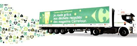Carrefour roule au biométhane   Mobilité   Scoop.it