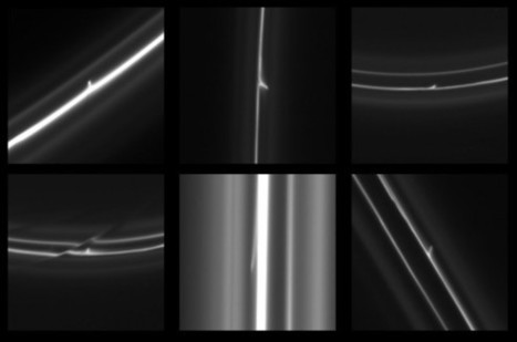 """A """"Mini Jet"""" Juts from Saturn's F Ring 