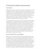 Chomsky: El control de los medios de comunicación | New media & Journalism | Scoop.it