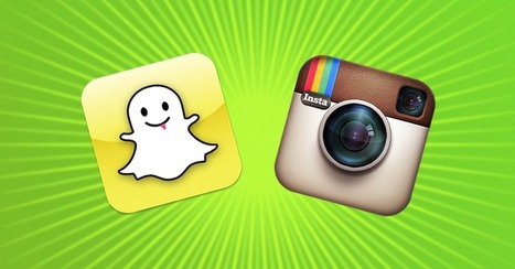 Instagram vs. Snapchat: How the Photo-Sharing Apps Stack Up | AIRR Media | Scoop.it