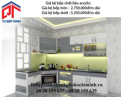 Kệ bếp acrylic nhà chị Anh Thư - Q7 - Ke-bep-acrylic-nha--Chi-Anh-Thu---q7 - tu van du hoc uy tin|du hoc gia re - | TỦ BẾP MFC - GIÁ TỦ BẾP MFC | Scoop.it