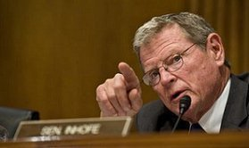 Inhofe refutes climate science with scripture