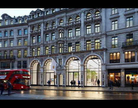 Le nouveau concept d'Apple Store inauguré à Londres | Marketing du point de vente | Scoop.it