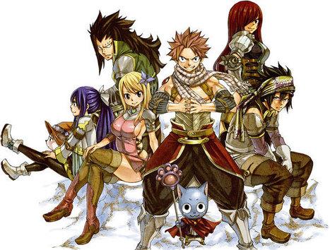 Fairy Tail, la suite de l'Anime pour le printemps - le Dojo Manga   Actualité: Manga et Anime   Scoop.it