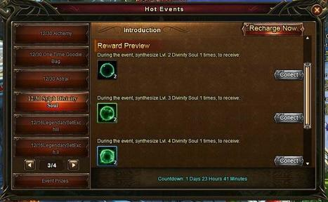 Wartune Addicts Blog: Wartune New Events 12/30: Sylph Equipment Enchant, Sylph Divinity Soul, Card Hunter, Astral, Amethyst Mine, etc... | Wartune Addicts | Scoop.it