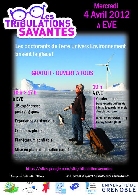 Tribulations savantes 2012 | OSUG | Actualité Culturelle | Scoop.it